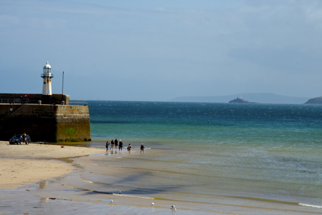 Smeaton Pier Head and Light St Ives