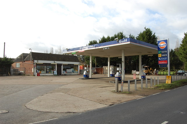 Petrol Station on Tenterden Road (A262)