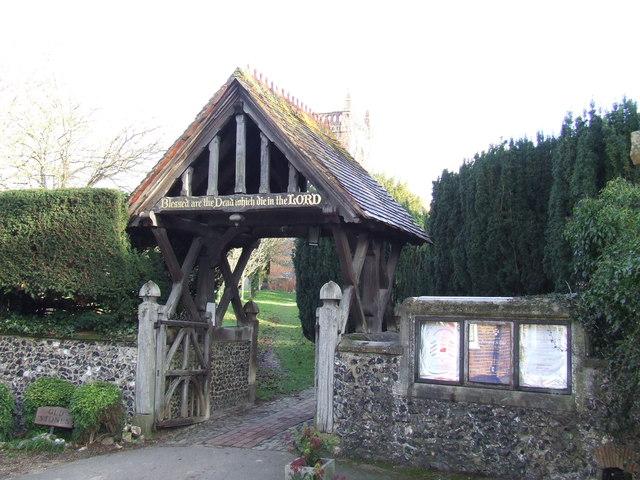 Churchyard gate, Shoreham