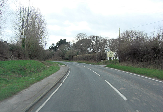 A337 south of Efford Farm