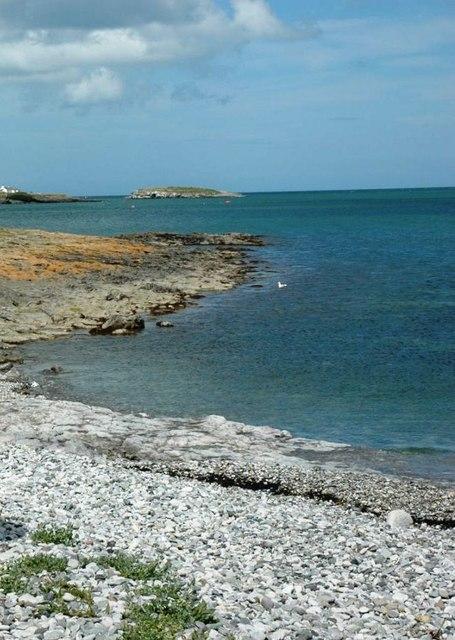 Porth y Rhos beach