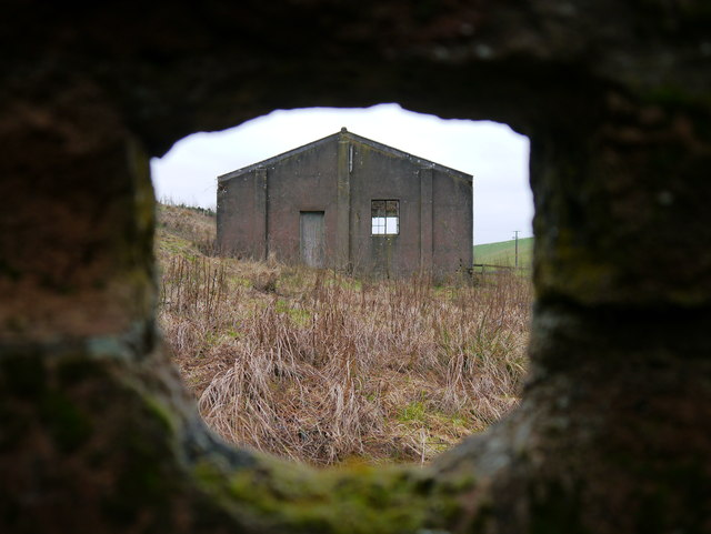 Disused Pumping Station - Alternative View
