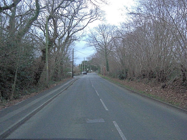 Everton Road in Hordle