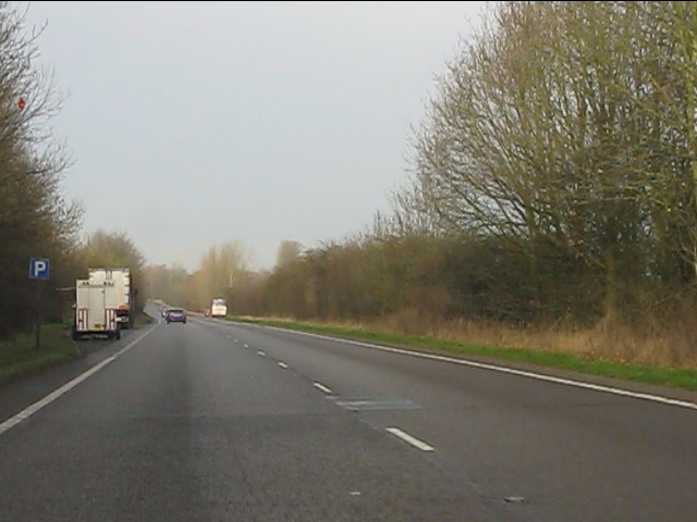 A41 north of the A518 roundabout