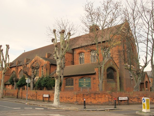 St. Matthew's Church, St. Mary's Road / Fawcett Road, NW10