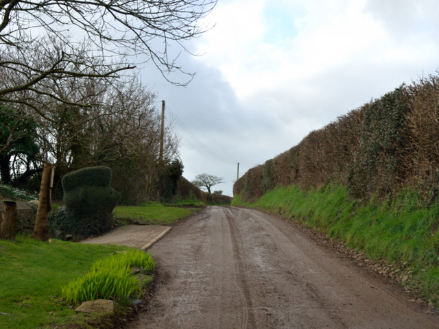 Tregonjohn, on the road from Fair Cross to Creed