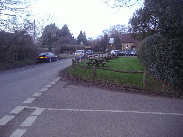 The corner of Abinger Lane and Donkey Lane