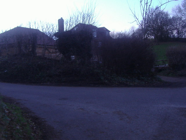House on the corner of Rad Lane, Abinger Hammer