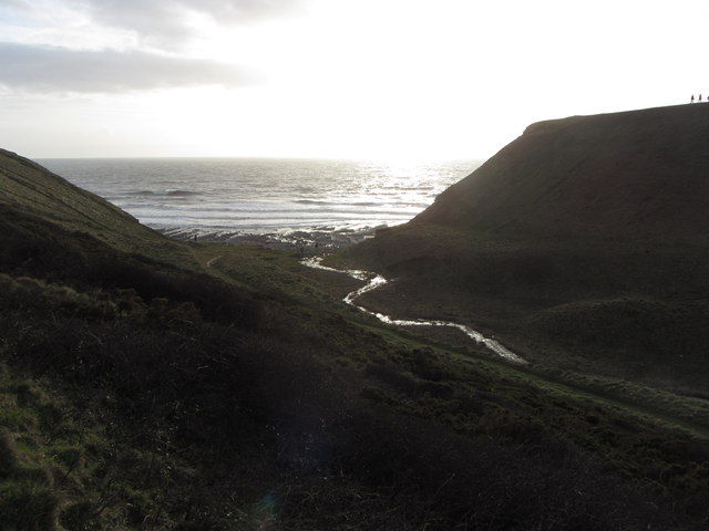Cwm Marcroes and Nash Point