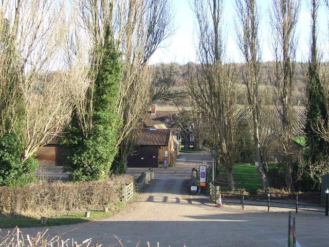 Castle Farm near Lullingstone