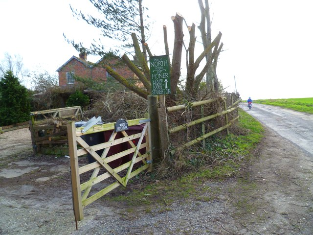 Entrance to North Honer Farm