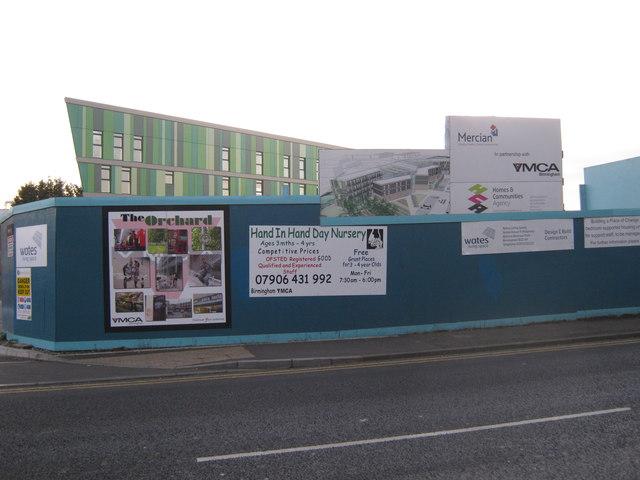 Development notices, YMCA Erdington
