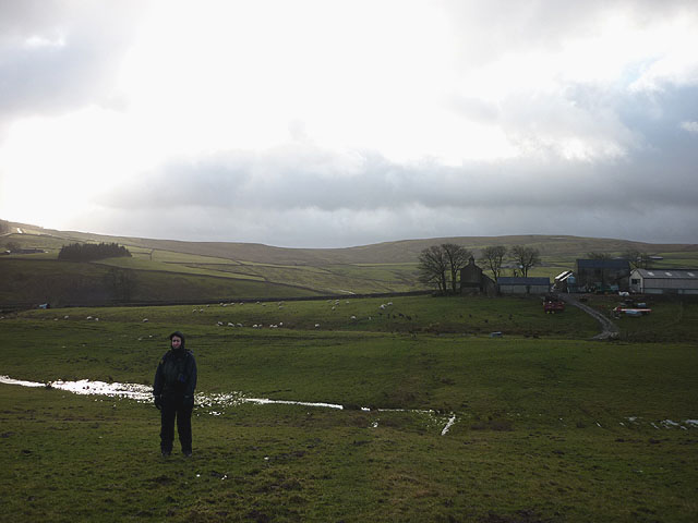 The Pennine Way north of Grassholme