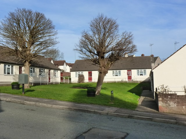 Sheltered Housing, Hardwick Avenue, Chepstow Garden City