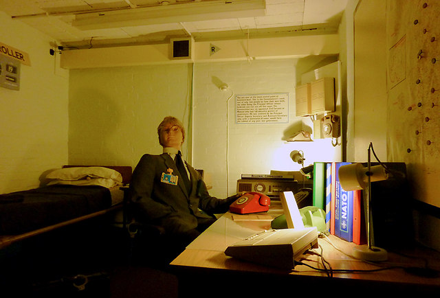 Hack Green Secret Nuclear Bunker: The Commissioner's Room