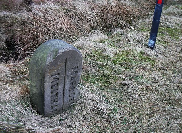 Boundary stone, Wessenden Head Road