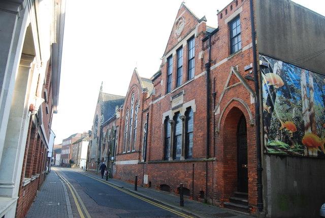 Methodist Church and Sunday School, East St