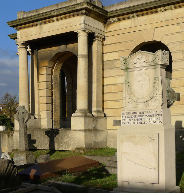 Memorial to Reginald Warnefield VC