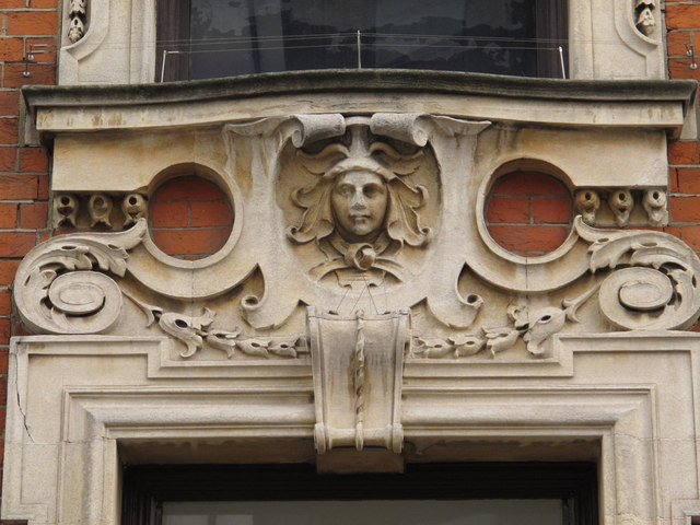 Former National Bank, Craven Park Road / St. Mary's Road, W10 - detail (2)