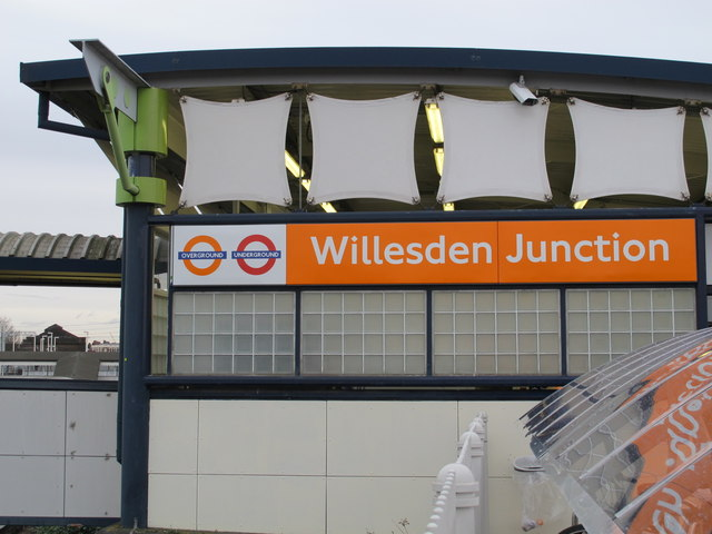 Willesden Junction station entrance, Station Approach, NW10 (2)