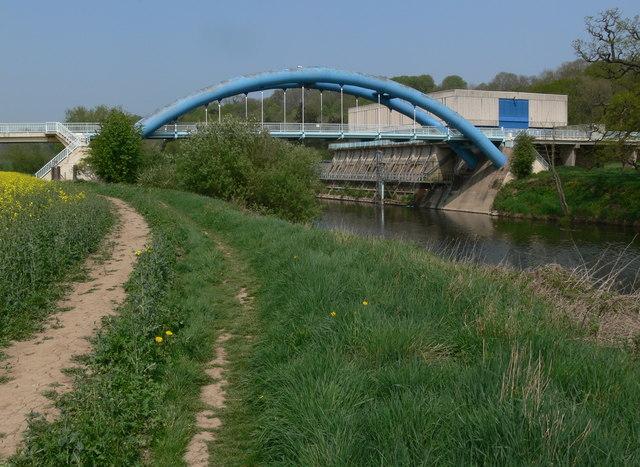 Bridge at Hampton Loade Waterworks
