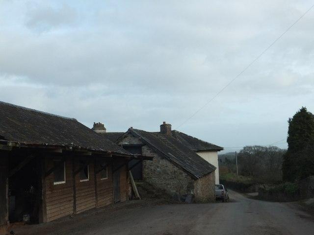 Farm buildings at Holloway Barton