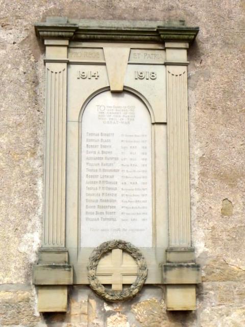 War Memorial, Kingsbarns