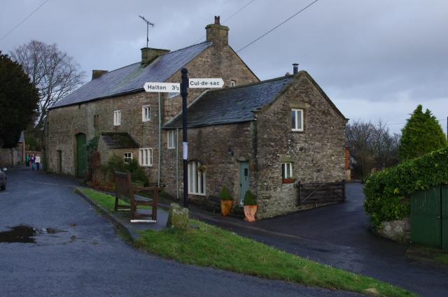 Aughton village