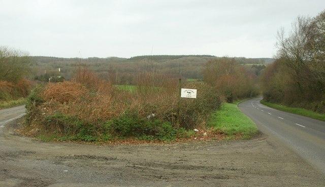 Entrance to Appledore Farm