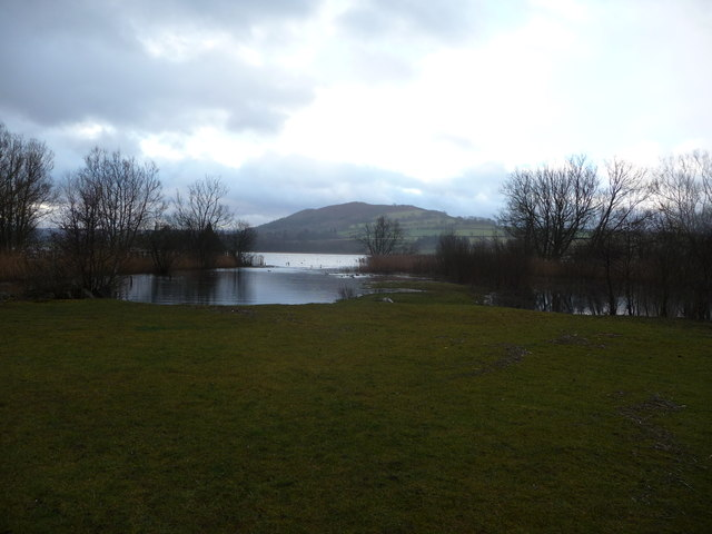 Higher winter water levels at Llangorse Lake