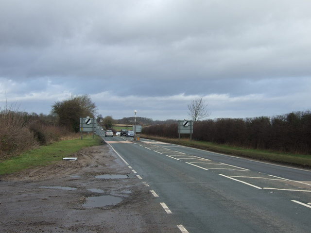 A61 towards Ripon