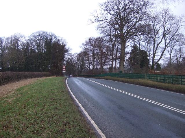 Harrogate Road (A61) heading north