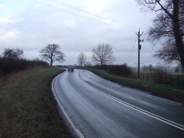 A61 towards Ripon