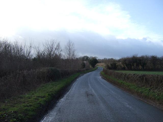 Thwaites Lane towards Markington
