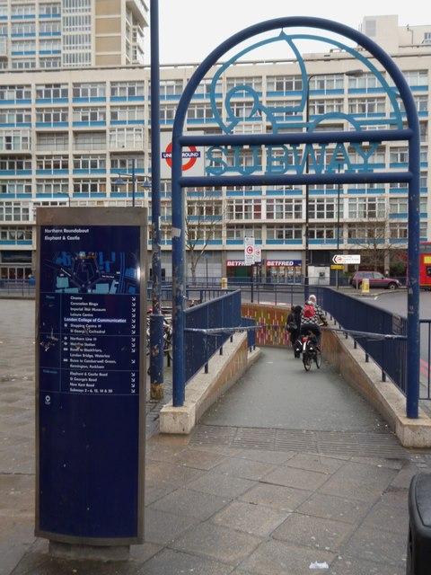 Subway, Elephant and Castle SE1