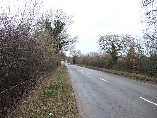 Minor road towards Sawley