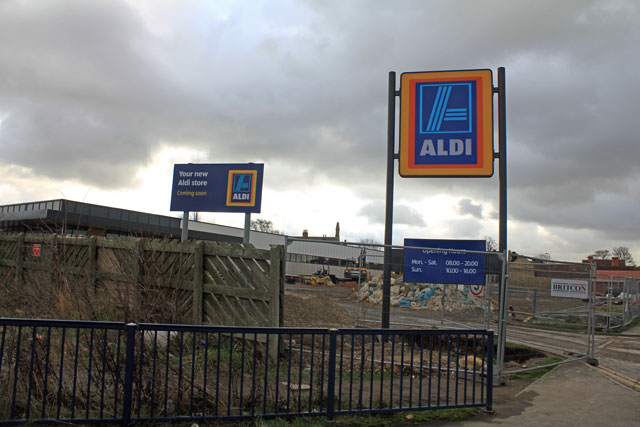 New Aldi Supermarket