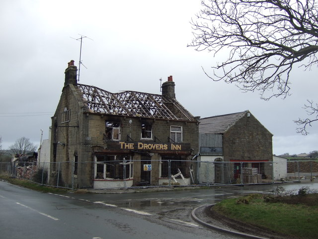 Remains of the Drovers Inn