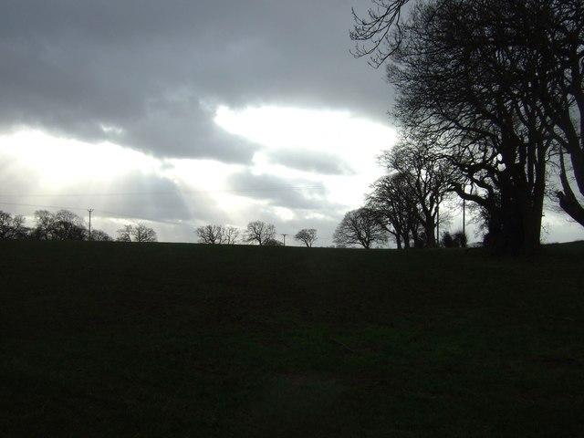 Farmland near Thornton Moor Farm
