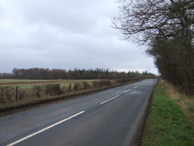 Minor road towards Ripley