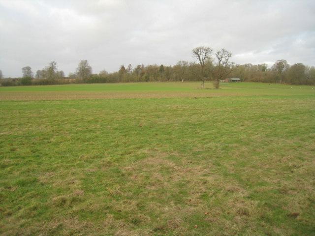 View towards Oakley cricket field