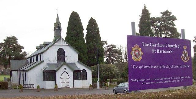 St Barbara's Church, Deepcut