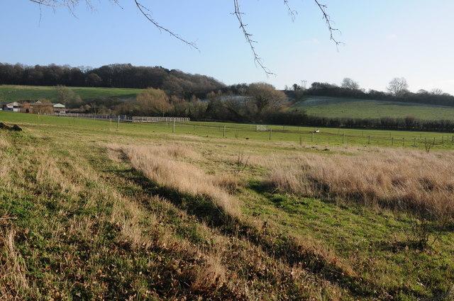 Farmland near Oakley Farm