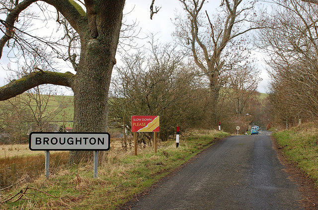 Entering Broughton