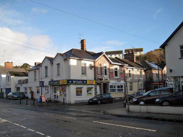 Corner shop, Lymington Road