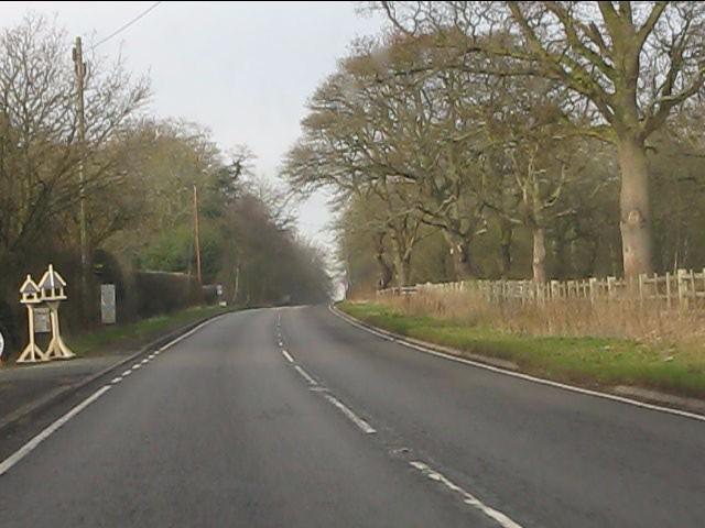 A41 at Lane End Farm