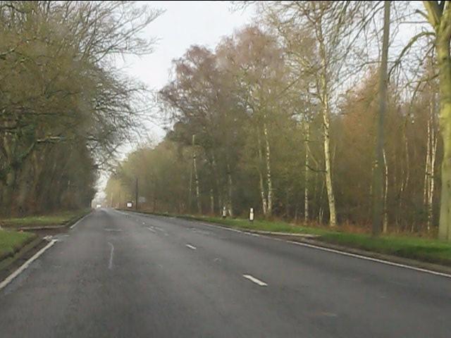 Crossroads in Chetwynd Heath