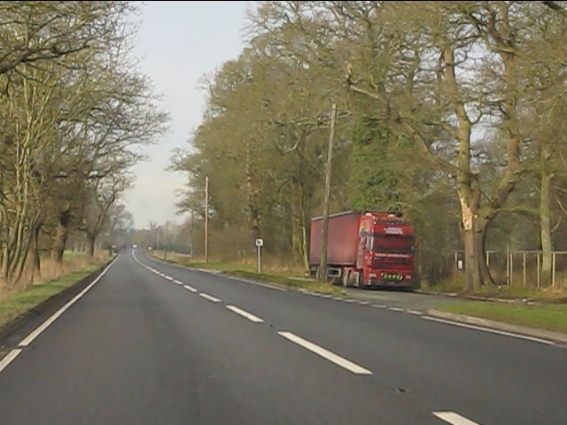 Layby on the Chester Road (A41)