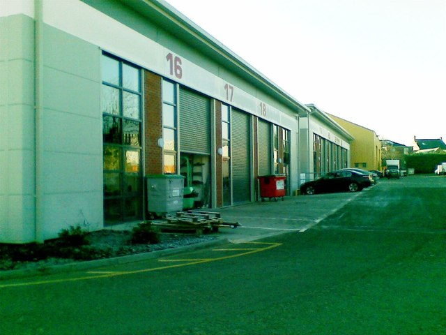 New industrial units, Link Business Centre