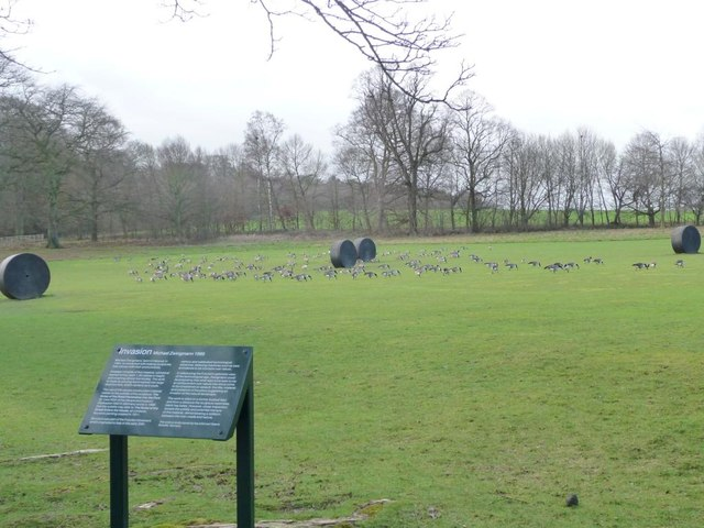 Invasion at Yorkshire Sculpture Park